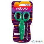 Nebulo: Krokodil Műanyag Biztonsági Olló (Nebulo, O-OV-12-KR)