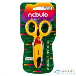 Nebulo: Tukán Műanyag Biztonsági Olló (Nebulo, O-OV-12-TU)