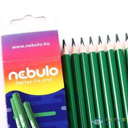 Nebulo: Zöld Színű Ceruza 1Db (Nebulo, ZC-TR-1)