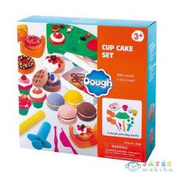 Playgo: Cupcake Készítő Gyurmaszett (Playgo, 8310)