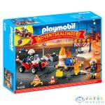 Adventi Naptár: Tűzoltóság - 9486 (Playmobil, 9486)