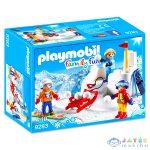 Hógolyózás - 9283 (Playmobil, 9283)