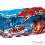 Playmobil: Tűzoltók Helikopterrel És Hajóval 70335 (Playmobil, 70335)