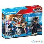 Playmobil Rendőrség: Bicikli A Zsebtolvaj Nyomában 70573 (Playmobil, 70573)