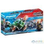 Playmobil Rendőrség: Gokart A Széfrabló Nyomában 70577 (Playmobil, 70577)