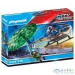 Playmobil Rendőrség: Helikopteres Ejtőernyős-Üldözés 70569 (Playmobil, 70569)