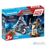 Playmobil: Rendőrség Kiegészítő Szett 70502 (Playmobil, 70502)
