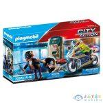 Playmobil Rendőrség: Motor A Pénztolvaj Nyomában 70572 (Playmobil, 70572)