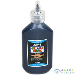 Amos Fekete Kontúr Üvegfesték - 40 Ml (Printker, PR-FDWC0022)