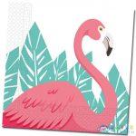 Flamingós 2-Rétegű Papírszalvéta 20Db (Procos, 89594)