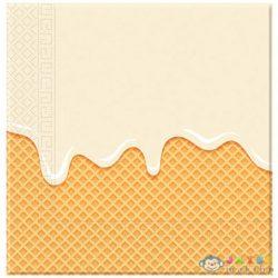 Jégkrémes 2-Rétegű Papírszalvéta 20Db (Procos, 89403P)