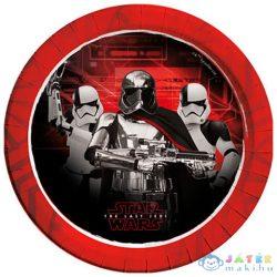 Star Wars: Az Utolsó Jedik Papírtányér 8Db 23Cm (Procos, 88548)