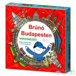 Brúnó Budapesten Társasjáték (Promitor, KM-713526)