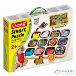 Quercetti: Háziállatos Mágneses Puzzle 12Db-os (Quercetti, 230)