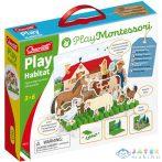Quercetti: Montessori Állatos Pötyi Játék Gyerekeknek (Quercetti, 621)