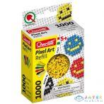Quercetti: Pixel Art Sárga Színű 4Mm-Es Pötyi Utántöltő 1000Db-os (Quercetti, 2476)
