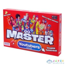 Go Master Youtuber Társasjáték (Régió, 40647)