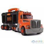 Black And Decker: Összeépíthető Kamion Szerszámkészlettel (Simba, 7600360175)