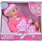 Laura Beszélő, Kacagó Baba - 38 Cm (Simba, 105140060)