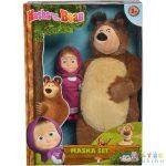 Mása És A Medve: Plüss Maci És Mása Egy Csomagban (Simba, 109301072)