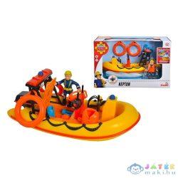 Sam, A Tűzoltó: Neptune Csónak Penny Morris Figurával, Kiegészítőkkel (Simba, 109251047038)