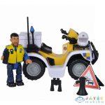 Sam, A Tűzoltó: Rendőrségi Quad Malcolm Figurával (Simba, 109251093038)