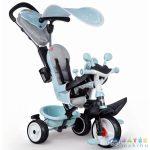 Smoby: Baby Driver Plus Tricikli - Kék (Simba, 7600741500)