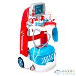 Smoby: Doktor Játékkocsi Tartozékokkal És Hangokkal (Simba, 7600340202E)