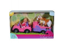 Steffi Love - Évi Love Lószállítóval, (Simba Toys, 105737460)