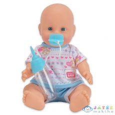 New Born Baby: Pisilős Baba Kék Ruhában (Simba Toys, 105036686)