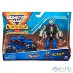 Monster Jam: Son-Uva Digger Kisautó Scrap Figurával (Spin Master, 6055108)