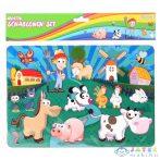 Spirit: Farm Állatok Kreatív Műanyag Rajzsablon (Spirit, 408291)