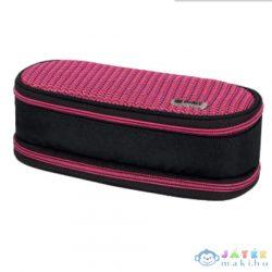 Spirit: My Bag Fekete És Pink Két Rekeszes Ovális Tolltartó (Spirit, 407962)