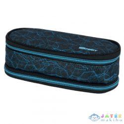 Spirit: My Bag Kék Kockás Két Rekeszes Ovális Tolltartó (Spirit, 407967)