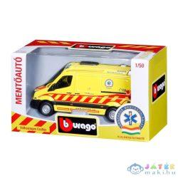 Bburago Magyar Mentőautó - Volkswagen Crafter 1:50 (Stadlbauer, 15632011)