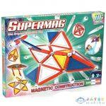 Supermag: 116Db-os Mágneses Építőjáték Szett Panelekkel (Supermag, 153)