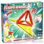 Supermag: 35Db-os Mágneses Építőjáték Szett Panelekkel (Supermag, 150)