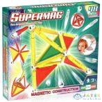 Supermag: 48Db-os Mágneses Építőjáték Szett Panelekkel (Supermag, 151)