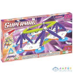 Supermag: Classic Trendy 120 Db-os Mágneses Építőjáték (Supermag, 407)