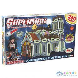 Supermag: Glow 260 Db-os Mágneses Építőjáték - 3D Kastély (Supermag, 618)