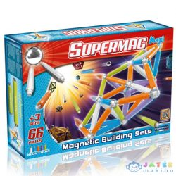 Supermag: Maxi Neon 66 Db-os Mágneses Játék (Supermag, 116)
