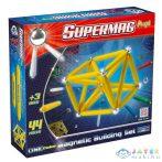 Supermag: Maxi One Color 44 Db-os Mágneses Játék (Supermag, 122)