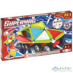 Supermag: Tags Wheels 143 Db-os Mágneses Építőjáték (Supermag, 185)