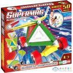 Supermag: Tags Wheels 50 Db-os Mágneses Építőjáték (Supermag, 181)