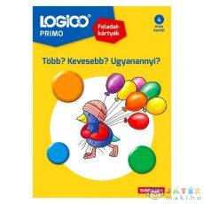 Logico Primo: Feladatkártyák - Több? Kevesebb? Ugyanannyi? (Tessloff, 9789632945415)
