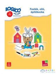 Logico Primo Feladatkártyák - Festék, Olló, Építőkocka (Tessloff-Babilon, 9789632940168)