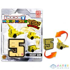 Pocket Morphers: 5 Ágyú Figura (TM, PMO6888)