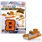 Pocket Morphers: 8 Tengeralattjáró Figura (TM, PMO6888)
