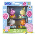 Peppa Malac És Barátai 4 Darabos Fürdőszobai Figurák (TM Toys, PEP360037I)