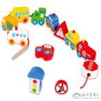 Összefűzhető Fa Járművek (Tooky, TKB512-B)